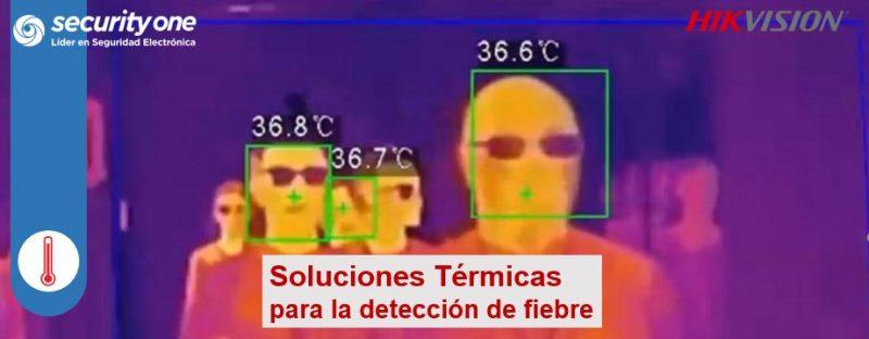 Soluciones y Productos Térmicos para Detección de Fiebre