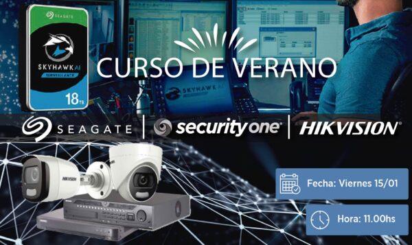 CURSO DE VERANO: Alianza Hikvision y Seagate