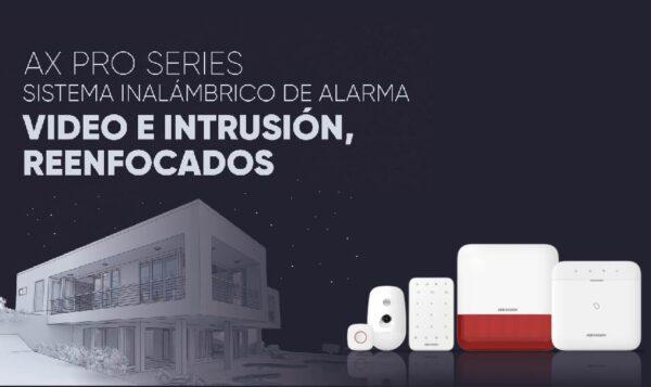 Alarmas Ax Pro Hikvision